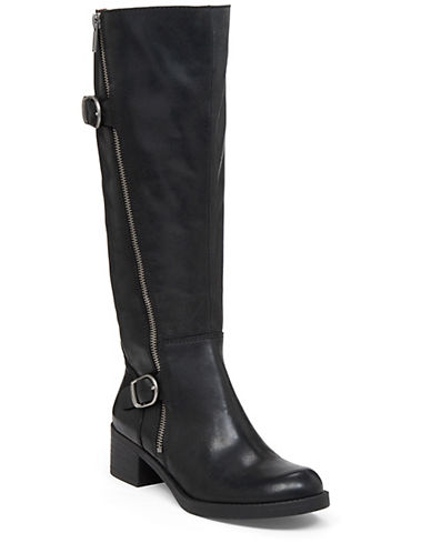 Buy Hoxy Tall Leather Boot by Lucky Brand online
