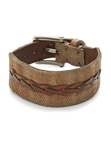 JOHN VARVATOS U.S.A.Braided Leather Bracelet