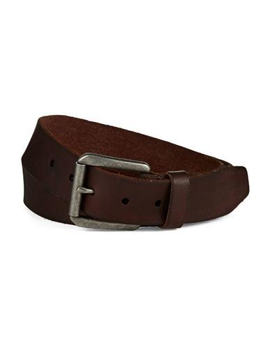 JOHN VARVATOS U.S.A.Leather Belt with Roller Buckle