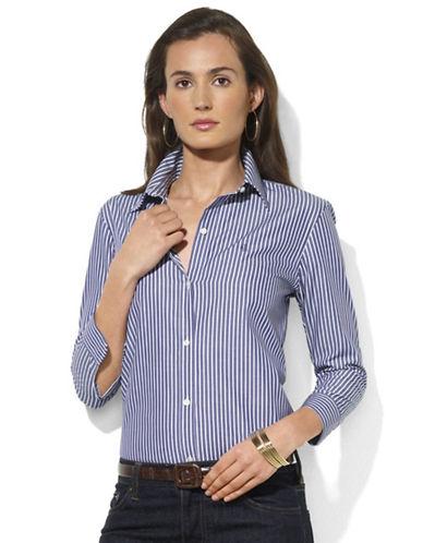 LAUREN RALPH LAUREN3/4 Sleeve Striped Shirt