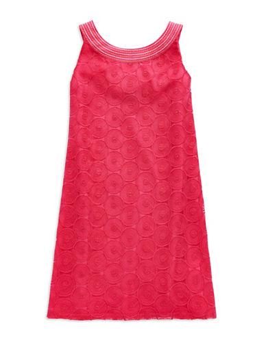 NICOLE MILLERGirls 7-16 Dot Shift Dress