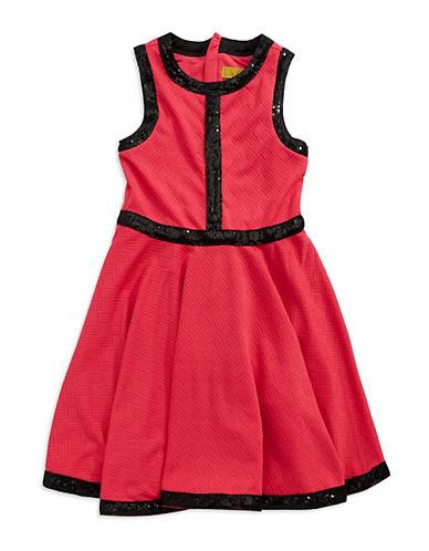 NICOLE MILLERGirls 7-16 Sleeveless Textured Dress