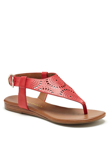 ARTURO CHIANGKarena Vachetta Leather Sandals