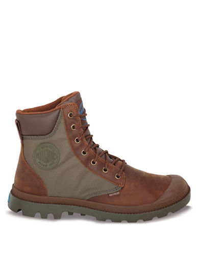 PALLADIUMPampa Sport Cuff WP2 Leather Ankle Boots