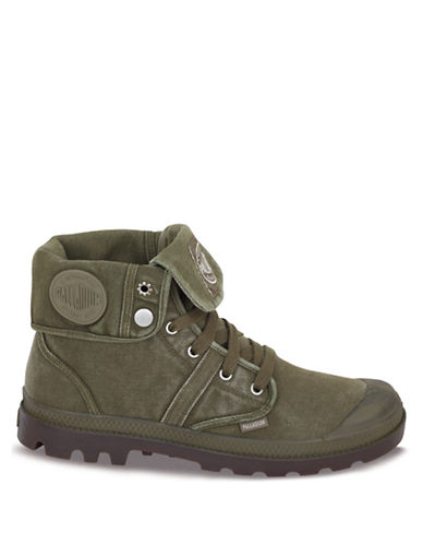 PALLADIUM Pallabrouse Baggy Canvas Ankle Boots