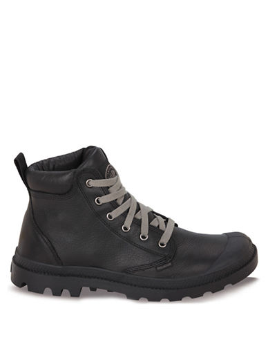 PALLADIUMPampa Hi Cuff Leather Ankle Boots