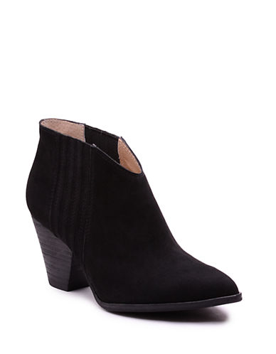 Buy Addie Nubuck Leather Ankle Booties by Splendid online