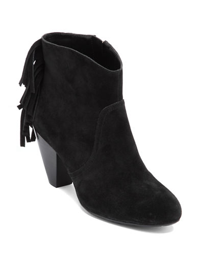 JESSICA SIMPSON Octave 2 Suede Leather Ankle Boots