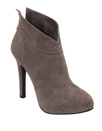 JESSICA SIMPSONAggie Leather High-Heel Ankle Boots