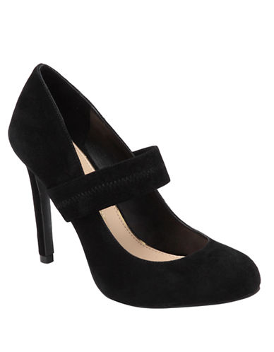 JESSICA SIMPSON Sacha Suede Mary Jane Pumps