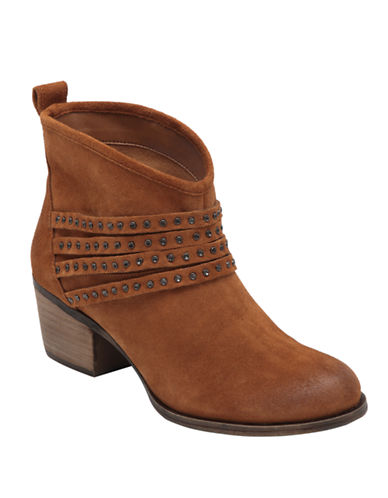 JESSICA SIMPSONClauds Suede Ankle Boots
