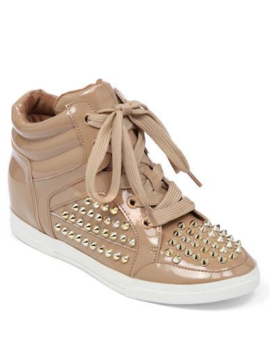 JESSICA SIMPSONTrebble High-Top Sneaker Wedges