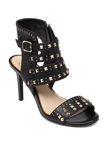 JESSICA SIMPSONDivia Leather Heeled Sandals