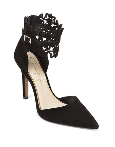 JESSICA SIMPSONCacy Ankle-Collar Pumps