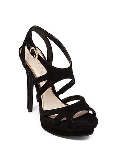 JESSICA SIMPSONPresslie Suede High-Heel Sandals