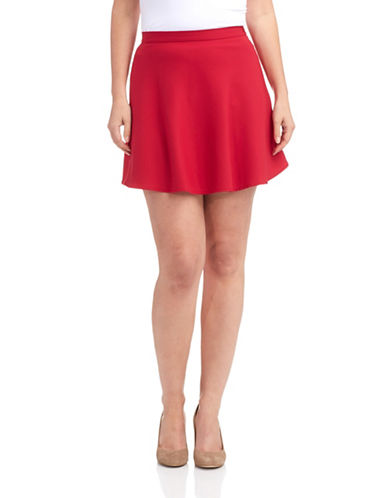 FRENCH CONNECTIONSolid Skater Skirt