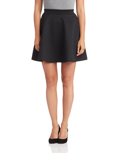 FRENCH CONNECTIONQuilted Skater Skirt