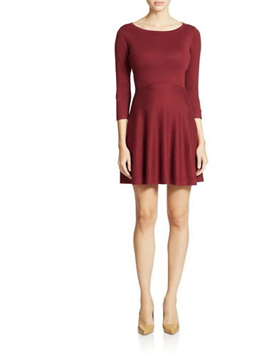 Shop French Connection online and buy French Connection Three-Quarter Sleeve Knit Dress dress online
