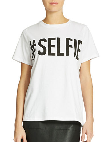 French Connection Selfie Graphic Tee