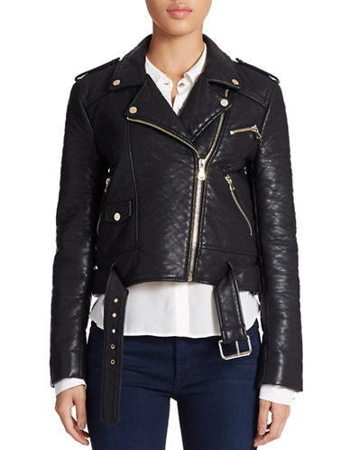 FRENCH CONNECTIONGeneration Faux-Leather Moto Jacket