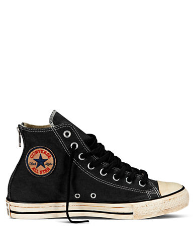 CONVERSE Vintage Washed Twill Hi Top Sneakers