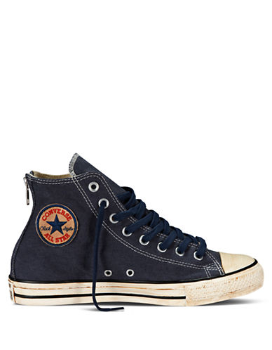 CONVERSEVintage Washed Twill Hi Top Sneakers
