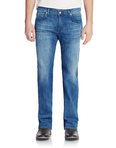 7 FOR ALL MANKIND Luxe Performance Easy Straight Leg Jeans