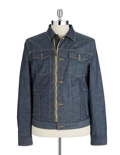 7 FOR ALL MANKIND Zipper Trucker Jacket