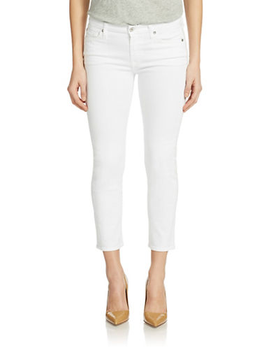 7 FOR ALL MANKIND Kimmie Contour Cropped Jeans
