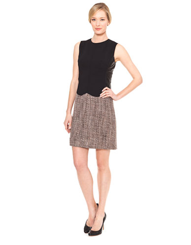 Shop Raoul online and buy Raoul Scalloped Dress dress online