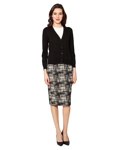 Raoul Silk Black Cardigan