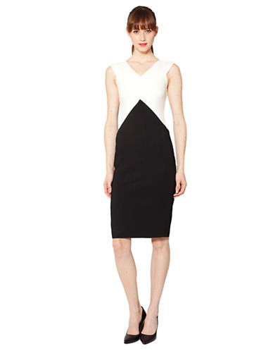 Shop Raoul online and buy Raoul Saige Colorblock Dress dress online