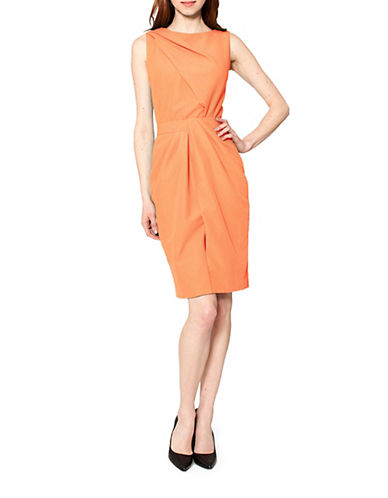 Shop Raoul online and buy Raoul Riley Side Draped Dress dress online