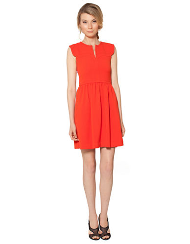 Raoul Mod Fit-and-Flare Dress