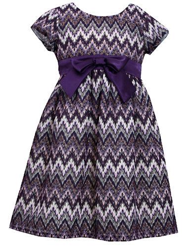 IRIS & IVYGirls 2-6x Crochet Chevron Dress