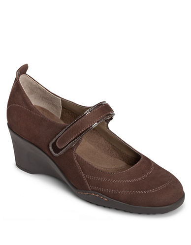 AEROSOLES Tornado Mary Jane Wedges