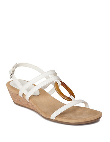 AEROSOLESAlphabyet Strappy Wedge Sandals