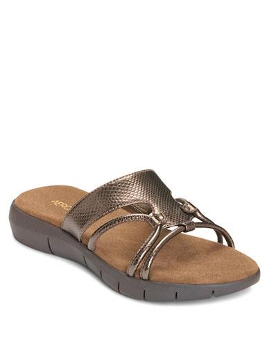 AEROSOLESWipaway Faux Leather Sandals