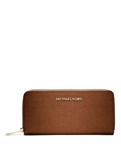MICHAEL MICHAEL KORSJet Set Leather Continental Travel Wallet