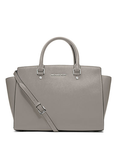 MICHAEL MICHAEL KORS Selma Leather Large Satchel