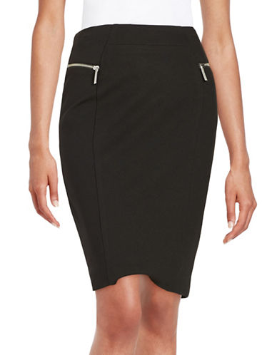 MICHAEL MICHAEL KORS Zipper Detailed Pencil Skirt
