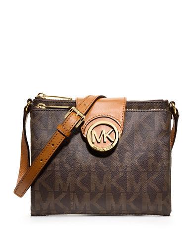 MICHAEL MICHAEL KORSFulton Faux Leather Large Crossbody Bag