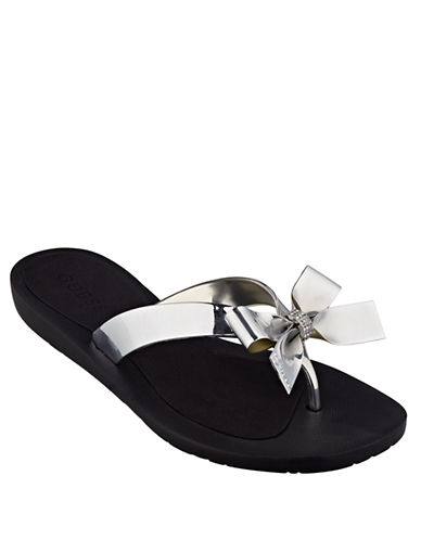 Shop Guess online and buy Guess Tutu Flip Flops shoes online