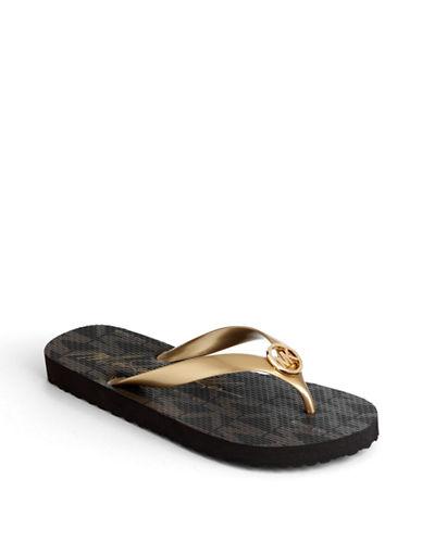 MICHAEL MICHAEL KORSMK Jet Set Flip Flop Sandals