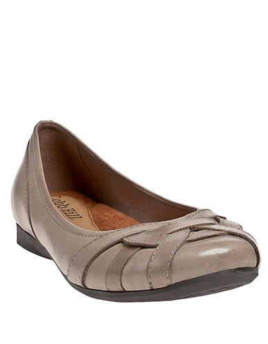 COBB HILLEva Leather Lattice Flats