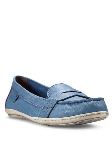 COBB HILLZoey Leather Penny Loafers
