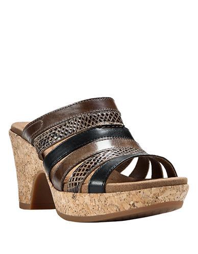 COBB HILLCourtney Leather Platform Sandals