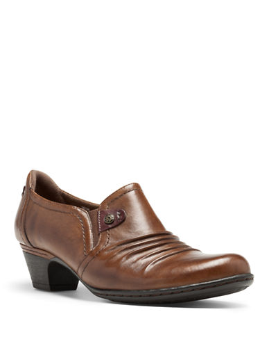 COBB HILL Adele Leather Booties
