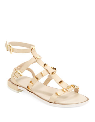 KENNETH COLE NEW YORKNeve Studded Gladiator Sandals