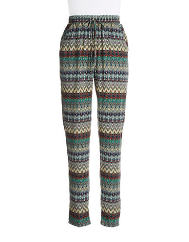 ROMEO AND JULIET COUTUREPatterned Drawstring Pants